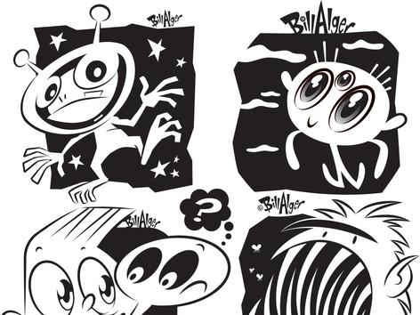 Monsters/Aliens 1