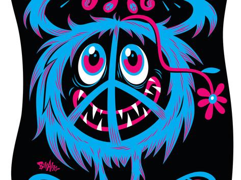 """Li'l Peace Monster"""