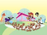 "Powerpuff Girls: ""The Professor's Monkey Business"" (cover)"
