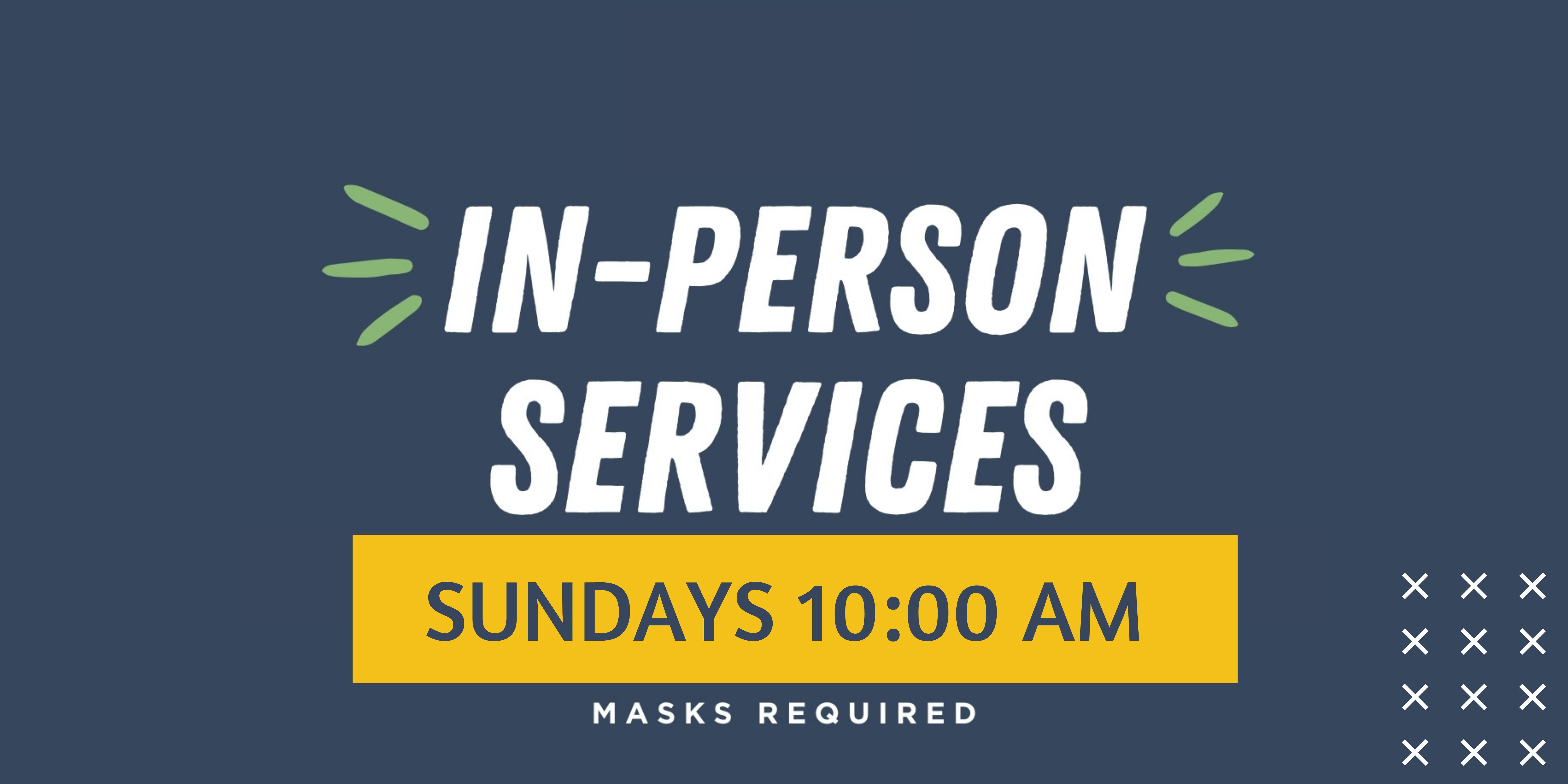 IN PERSON SERVICE