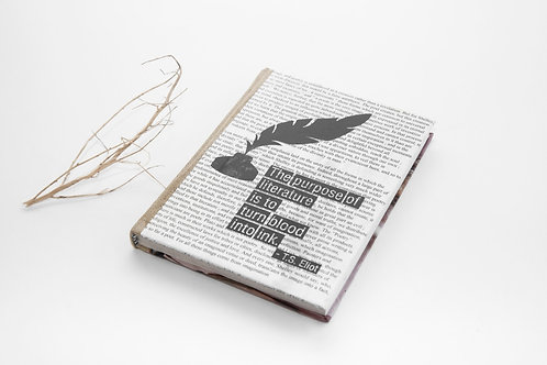 News Paper Cover Diary