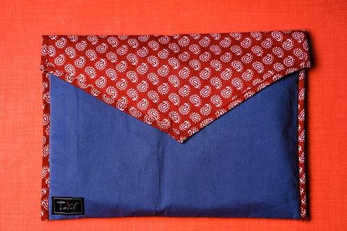 Twirl Fabric Folder- Colorful