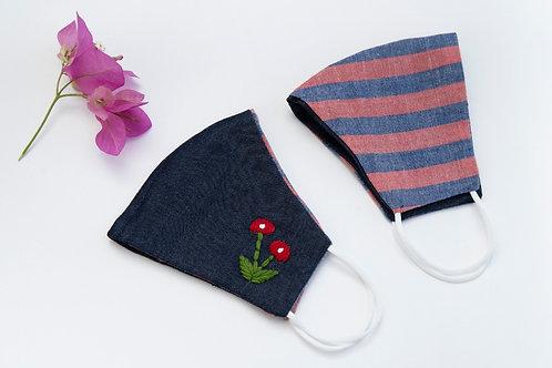 Customisable & Reversable Cotton Masks