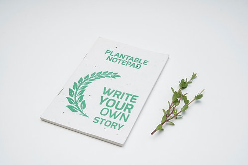Plantable Cover Diary (A5)