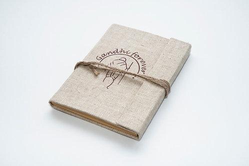 Jute Diary with Flap fold (Customizable)