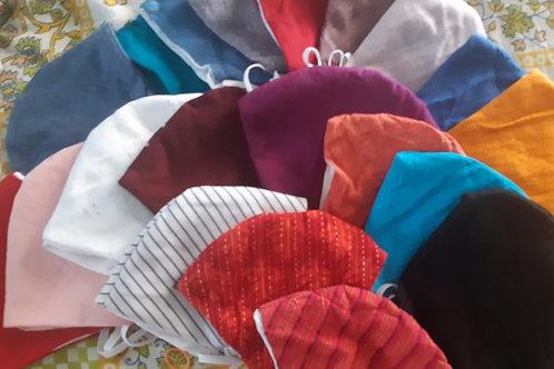 Twirl Assorted Fabric Masks (set of 4)
