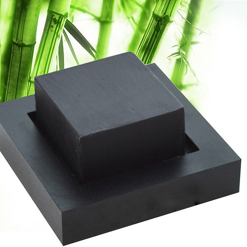 Bamboo Charcoal Rock Soap
