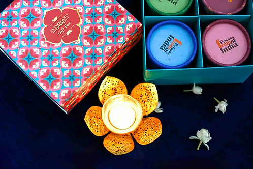 Antarkranti- Resin & Spice Incense Cones Gift Box | Set of 4 Pcs