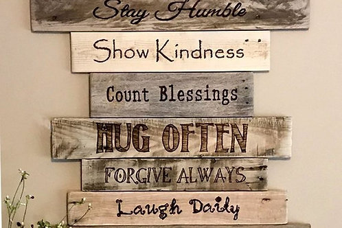 Family Rules- Wall Art