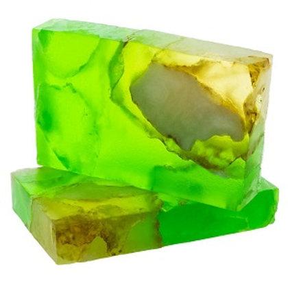 Heart Chakra Emarald Stone Soap