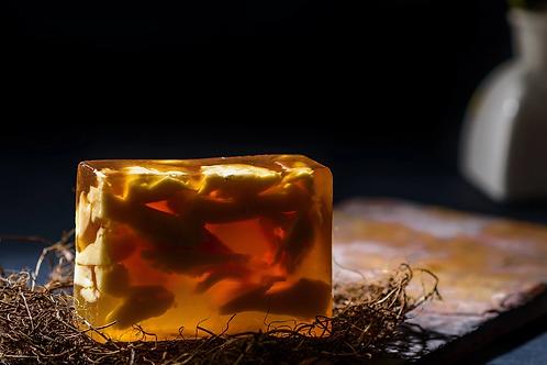 Bare Rituals- Solar Plexus Chakra Citrine Stone Soap