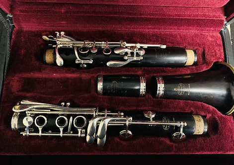 Buffet R13 Bb Clarinet #576xxx (Silver Plated)
