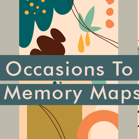 Perfect Occasions To Create Memory Maps