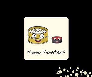 Momo Monster Fridge Magnet