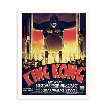 king-kong-art-poster-home-decor-white-frame.png