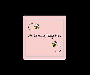 Bees Fridge Magnet