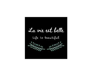 Life is Beautiful Fridge Magnet
