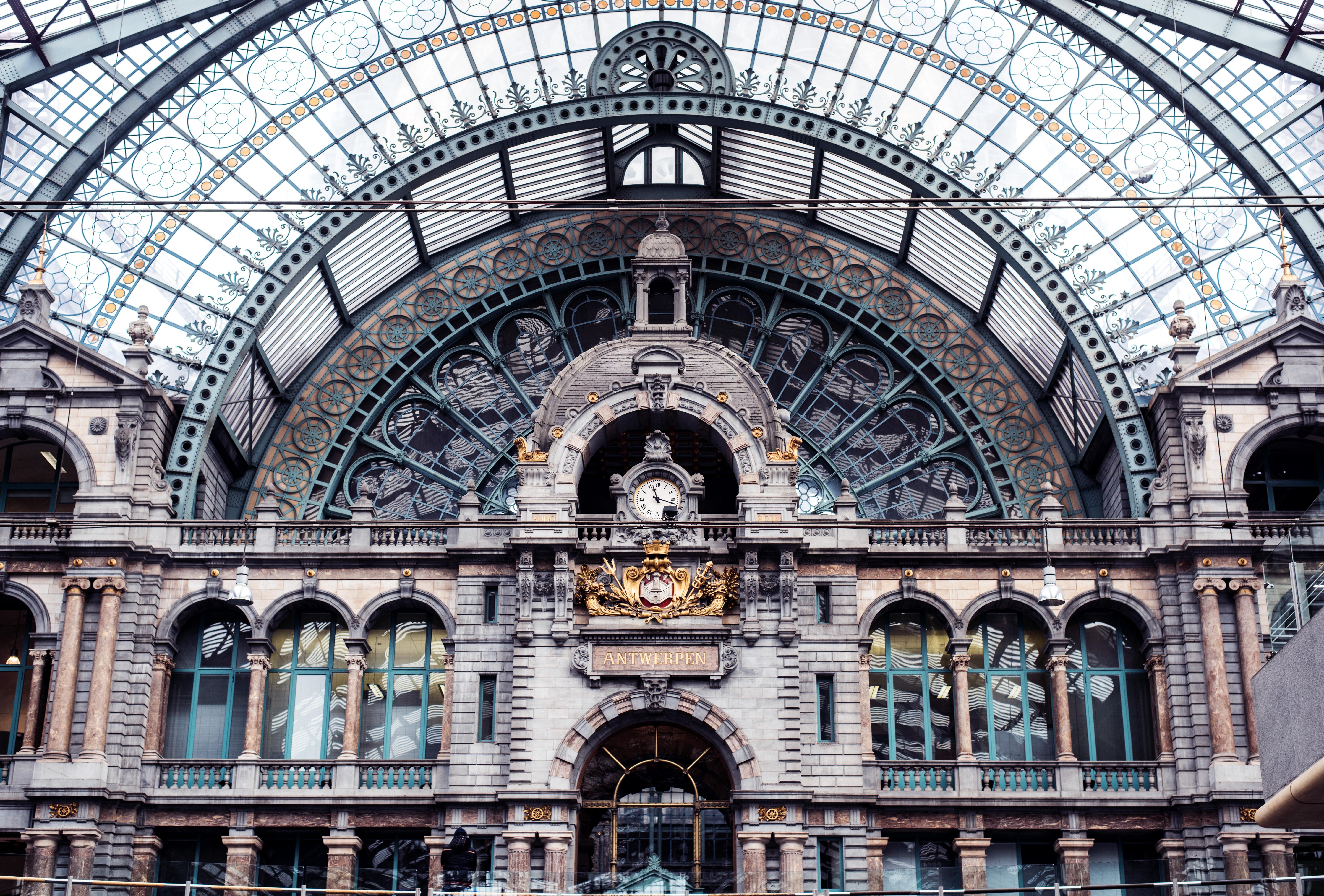 Train Station Antwerp