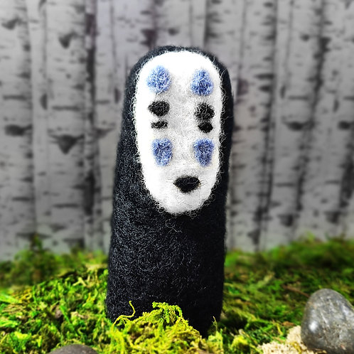 Needle Felted No Face