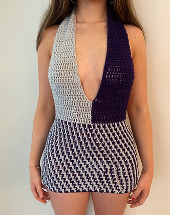 Lima Mini Dress Crochet Pattern