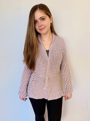 Lulea Cardigan Video Crochet Pattern