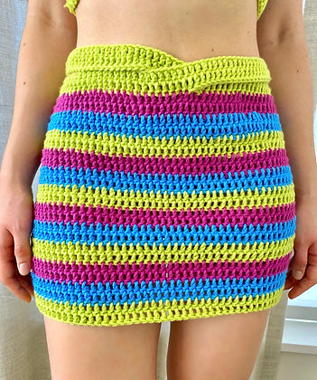 Oaxaca Skirt Crochet Pattern