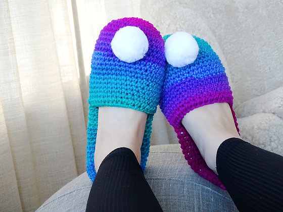 Dakota Slippers Crochet Pattern