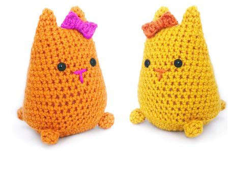 Crochet Kitten Plushie Free Pattern!