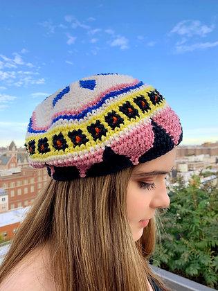 Catania Beret Crochet Pattern
