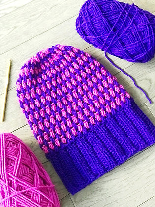 Crochet Aurora Beanie