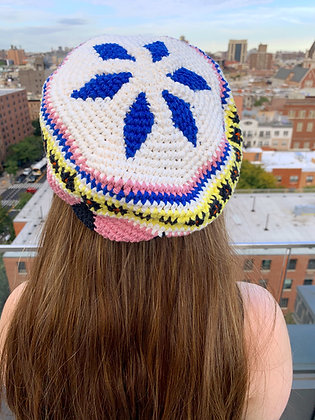 Catania Beret Crochet Pattern Kit