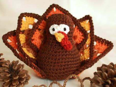 Free Crochet Thanksgiving Turkey Pattern!