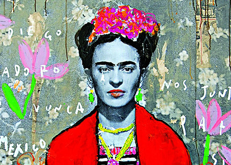 Highlight in Women's History Month: Frida Kahlo