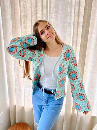 Seaside Cardigan Crochet Pattern