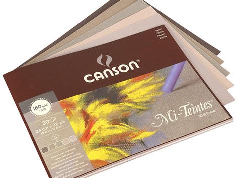Pastellimaalauksen tekeminen Cansonin Mi-Teintes -paperille