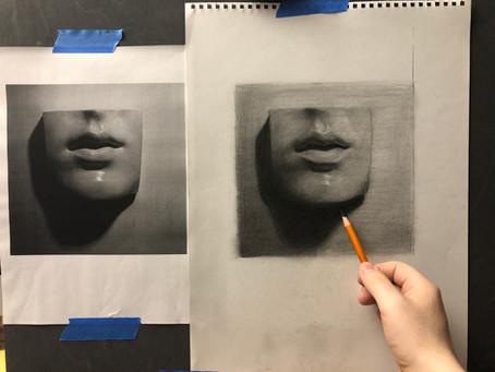 Fotorealismin salaisuudet paljastettu osa 2. - Näin kopioit mallikuvan millintarkasti -tutoriaali