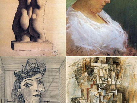 Picasson kaksi puolta