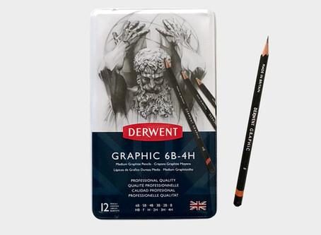 Testissä Derwent Graphic -lyijykynät