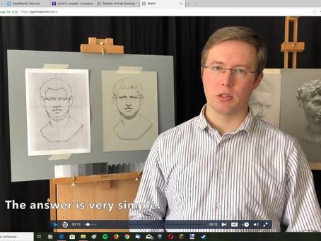 """""""Voiko YouTube-videoiden avulla oppia piirtämään tai maalaamaan?"""""""