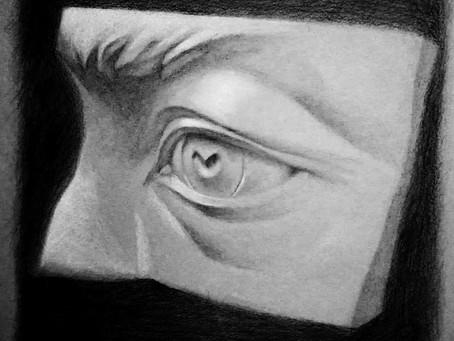 Kuinka piirtää silmä?