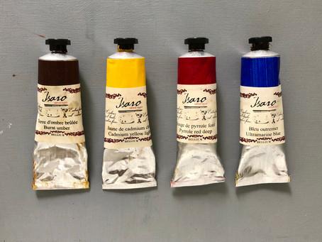 Pitäisikö sinun maalata rajoitetulla väripaletilla?