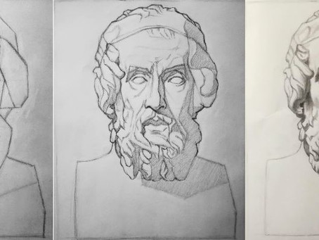Näin opit piirtämään Bargue-metodilla