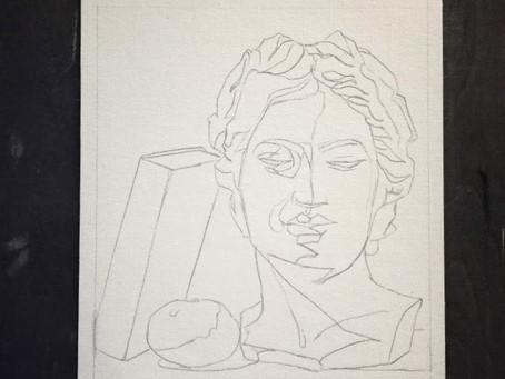 Piirustusmetodi jolla on vaikea epäonnistua osa 2. - Takuuvarma tapa piirtää vahvoja luonnoksia