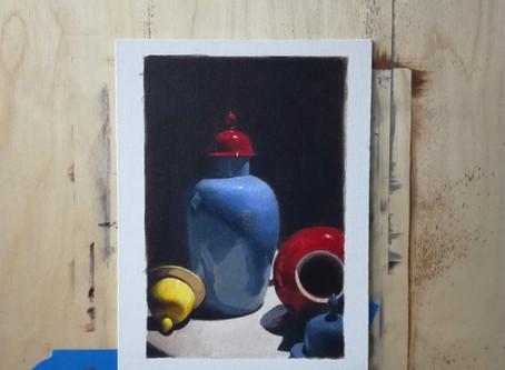 Näin maalaat fotorealistisen teoksen akryyliväreillä osa 2.