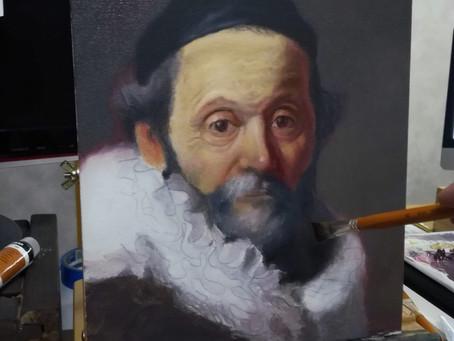 Piirrätkö loppuun asti kun maalaat?