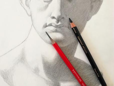 Kuinka piirtää hieno piirustus vain kahdella kynällä?
