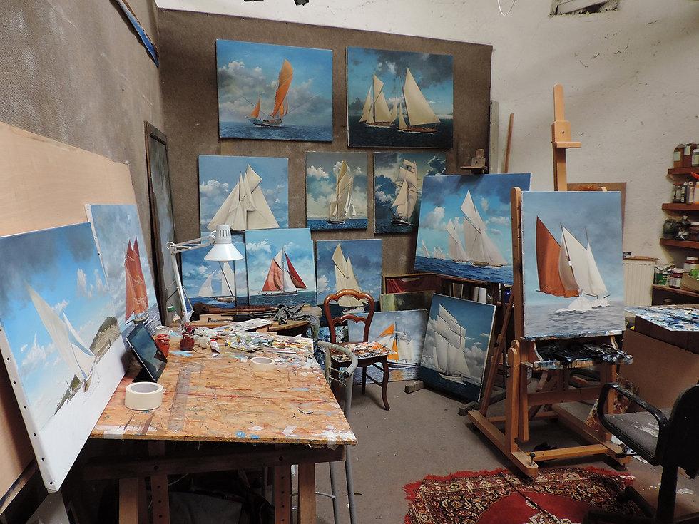 Sylvestre Guené Atelier