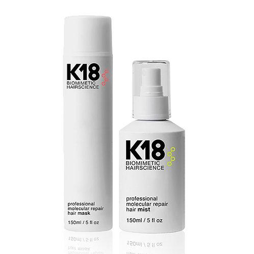 K18 BIOMIMETIC HAIR SCIENCE MIST & MASK Professionel