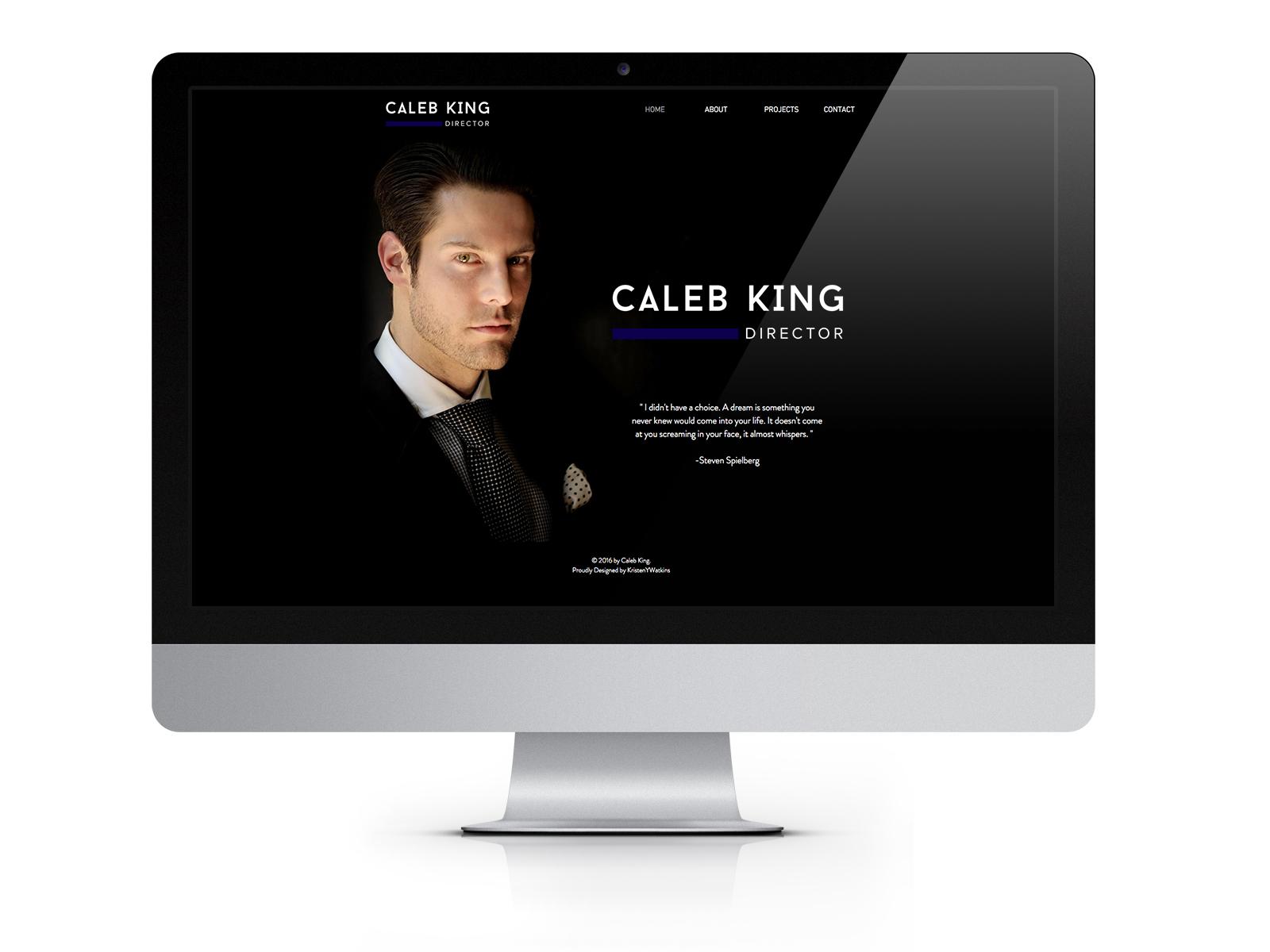 CalebKing_website_mockup