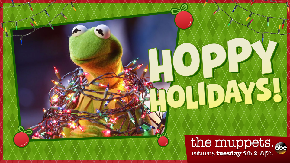 The Muppets - Kermit Holiday Card